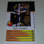 Action Man Power Cards 1996 Night Creeper Trading card @sold@